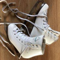 patins à glace Jackson 120 glacier blanc, pointure 12 US= 29 Europe